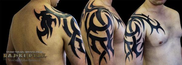 Tribal ręka i bark